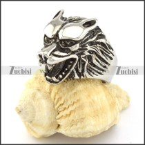 high quality 316L wolf ring -r000794