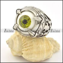 Halloween Green Eyeball Rings r001296