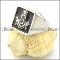 Unique Mason Rings Men in Stainless Steel with Special Meaning -r000881