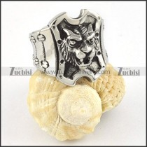 Stainless Steel Lion Rings -r000367