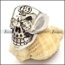 Stainless Steel Skull Rings -r000474