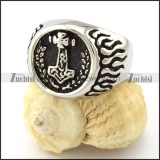 thor hammered rings for wholesale online -r001088