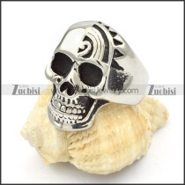 Stainless Steel Skull Rings -r000377