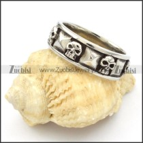 Stainless Steel Skull Rings -r000442