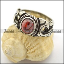 Red Opal Ring for Ladies r001727