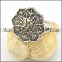 flower religion ring r001412