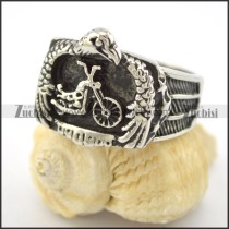 motorcycle eagle ring for bikers r001599