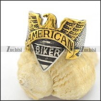 american eagle ring for motorcycle bikers r001590