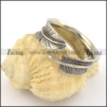 vintage adjustable leaf ring r001381