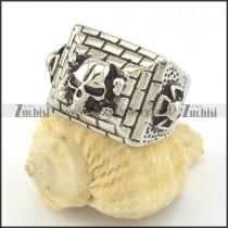 skull rings r001329