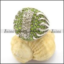 Light Green Stone Rings for Women r001751