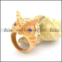 Owl Rose Gold Rings for Ladies r002376