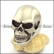 matte huge barehead skull ring with size from 7 to 15 r002204