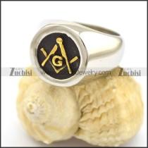 Stainless Steel Masonic ring for Women r002242