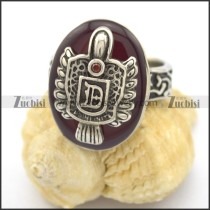 red epoxy vampire ring r002260