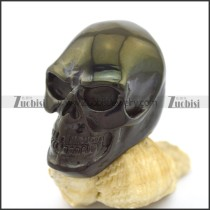 Large Cheap Skull Rings in Black Plating r002610