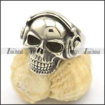 Headphone Philharmonic Skull Ring r002518
