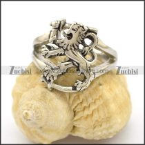 Stainless Steel The King of Lion Ring r002725