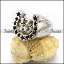 Lucky 13 and Stars Ring r003013