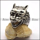 Big Casting Wolf Ring for Men r002806
