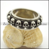 SS Skulls Ring Band r002758
