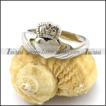Stainless Steel Claddagh Ring Represented Love Friendship Loyalty r003005