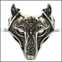 Viking Wolf Ring r005924