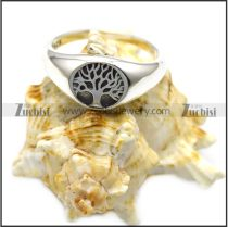 the tree of life sterling silver ring r006086