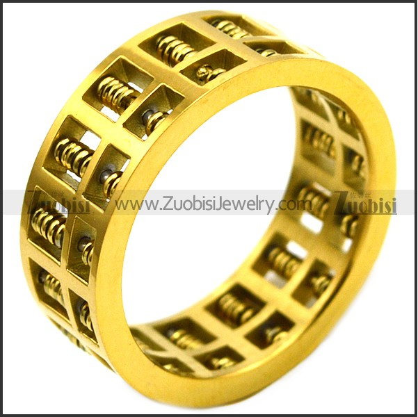 24K gold plating ring