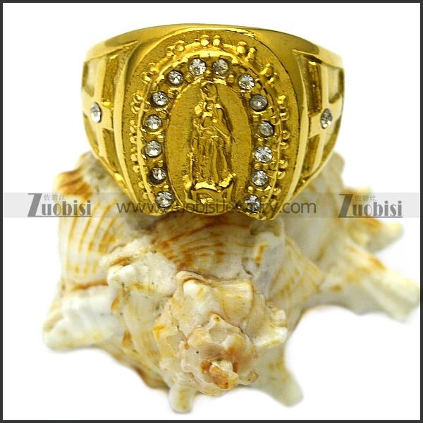 Golden God Ring