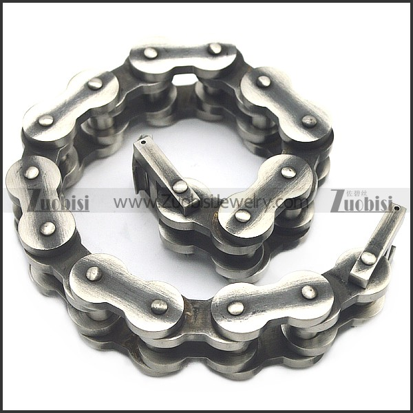 rough and tough stainless steel bracelet