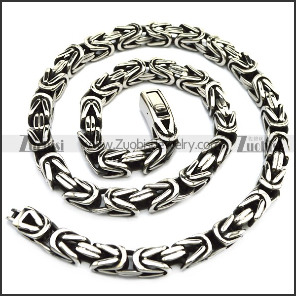 10mm wide casting vintage chain