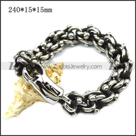 Unique Stainless Steel Casting Bracelet