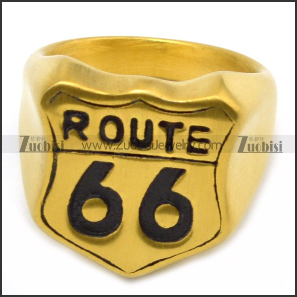 Route 66 Golden Ring for outlaw bikers