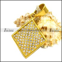Stainless Steel Pendant p010220
