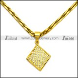 Stainless Steel Necklace n002995