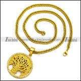 Stainless Steel Necklace n002981