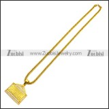 Stainless Steel Necklace n002987