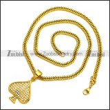 Stainless Steel Necklace n002993