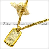 Stainless Steel Necklace n002990