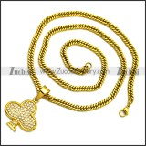 Stainless Steel Necklace n002994