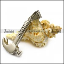 High Polishing Stainless Steel Hammer Pendant p006632