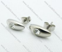 Stainless Steel Piercing Earrings JE220003