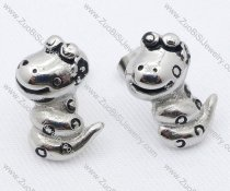 Stainless Steel Snake Earring - JE050064