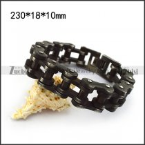 18MM Wide Vintage Bike Chain Bracelet b005239