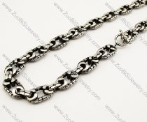 Punk Stainless Steel Link ChainNecklace in Length of 21.5 inch -JN170016