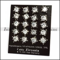 Clear Zircon Ear Nail e001244