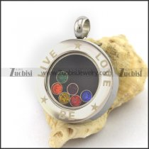 Live Be Love Pendant p003166