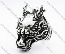 Stainless Steel Dragon King Ring -JR010199