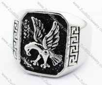 Stainless Steel The eagle Ring -JR330076